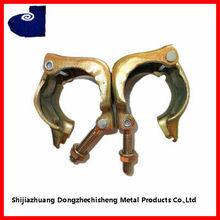 ks ajustable de acero al carbono galvanizado abrazadera de andamios sujetador