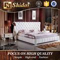 Italienne ensemble de chambre à coucher moderne, Lit de lit, Meubles lits B9024