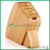 Natural Bamboo Knife Storage Block
