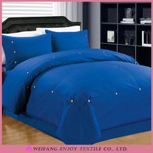 Satin Stripe Home Textile Comforter Set