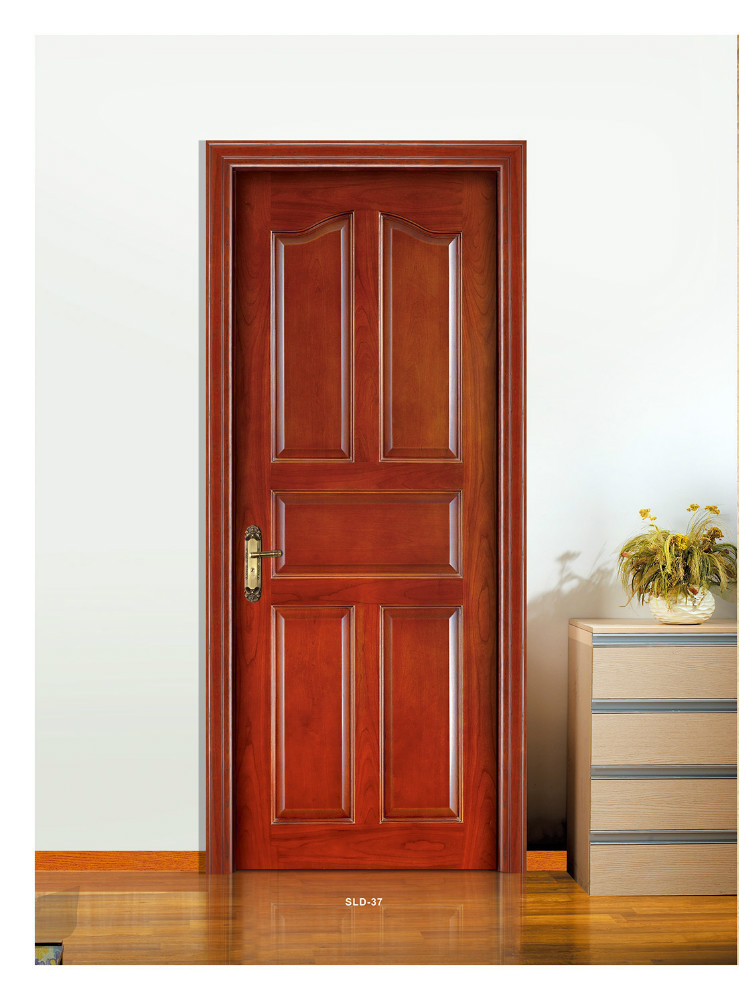 Solid wood doors solid wooden door doors with high quality for Quality doors
