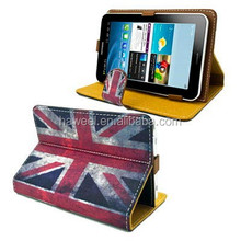 Universal Retro UK Flag Pattern Leather Case with Holder for 7.0 inch Tablet PC