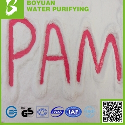 Chemical Auxiliary Agent Polyacrylamide PAM for Water Treatment Chemicals