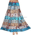 nuevo diseño de moda falda larga para niñas