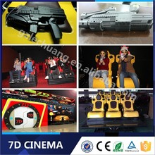 Commercial Theater Business Dynamic Gun Shooting 7D Cinema Simulator Product On Alibaba.Com