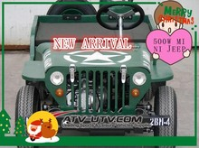 500W Mini jeep ATV 7 Inch Tyre Handguard New twin Exhaust with CE