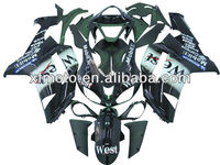 For Kawasaki ZX6R ZX-6R 2007-2008 Injection ABS Plastic Fairing Body Work kit