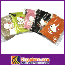 cute Cloth cover,hello Kitty cover for iphone