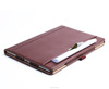 Multi Video Angles PU leather Tablet Case For IPad Pro 12.9 inch With A Pocket For File