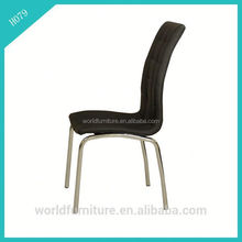 black crocodile leather dining room chair hotel luxury dining chair