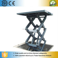 Small to Large Scale 3T to 20T Heavy/Super duty Fixed/Stationary Hydraulic Scissor Lift
