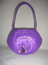 2015 Hot sale felt halloween bag cheap gift bags for holiday