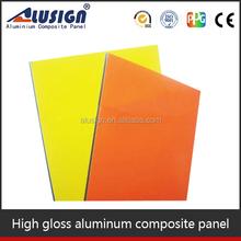Alusign cheap pe/pvdf aluminium honeycomb backed stone panel