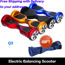 Entrepôt aux etats-unis 6.5 polegada livraison gratuite 2 roue propulsé monocycle scooter