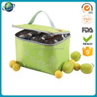 picnic cooler bag Insulated pvc water proof cool bag 6 bottle beer promotion bag beverage cooler