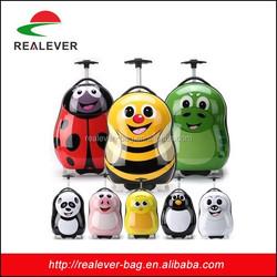 3d animal printing kids luggage