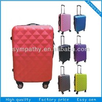 "Colourful ABS+PC Trolley Case Polycarbonate Luggage 20"" 24"" 28"" 3PCS"