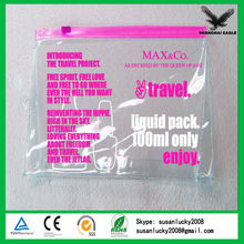 Transparent PVC Promotional Gift Bags Imprint Your Own Logo (directly from factory)