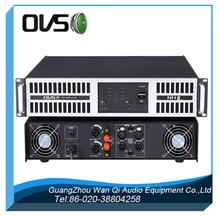 amplificador de potencia profesional + 1000W 4ohm estéreo + 2U 2channel sistema de sonido de gama alta