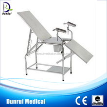 Foshan Shunde CE Passed Stainless Steel Examination Gynecological Bed