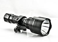 SG-C8Q5 7090CR-E Q5 LED hunting or bike light 18650 flashlight chrome