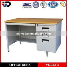 School Wooden Cheap Computer Desk/ Desktop Computer Table Designs For Teacher And Students