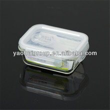 China Manufacturer Clear Rectangular Convex Silicone Frozen Food Storage Box With lid For Wholesale