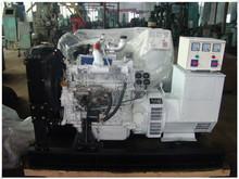37.5 to 437.5kva silent electric diesel power generator, marine diesel generator