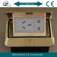 Floor box outlet floor socket indoor multimedia power box