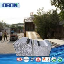 OBON soundproof foam board caravan wall boards houses for sale in guyana