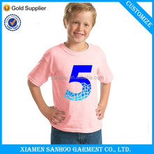 OEM Popular Casual Comfort Soft Cotton Tshirt For Boys Custom Printing