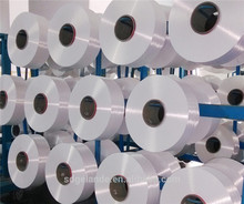 Polyester filament yarn pre-oriented yarn POY for final 75d/36f raw white full dull for weaving and knitting
