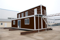 Economical Used Containers prefabricate home bungalow office