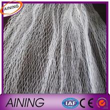 White high quality anti bird net/white knitted anti bird netting