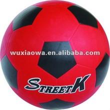 game sports good design rubber soccer ball/rubber football/manufacturer