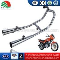 CM-125CC steel motorcycle exhaust muffler motorcycle