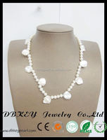 hot sell jewelry freshwater pearl multi layer bead necklace manufacturer