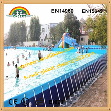 High quality metal frame inflatable swimming pool