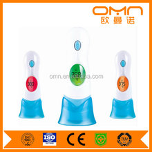 Medical grade temperature thermometer forehead and ear thermometer for body and ambient