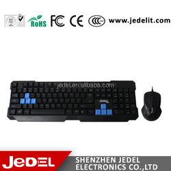 2015 Super cool cheap computer keyboard and mouse from shenzhen factory