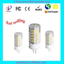 G4 LED Lamp 3W 12V G4 LED Corn Lamp With Ceramics Heatsink SMD2835 LED Spotlight Replace halogen lamps light