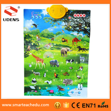 XHAIZ China Printing Company Supply Animal Growth Chart Educational Baby Growth Charts