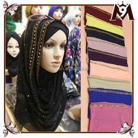 2015 big large polyster long shawl shimmer muslim hijab scarf