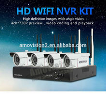 nvr kit camera great price 720p 4ch All-in-one Ip Camera Qr Code Nvr Kit Ip/network Shenzhen Factory Outdoor Ip Camera