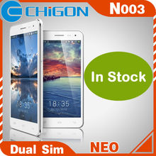 "In Stock smartphone NEO N003 Quad Core mobile phone ROM 5.0"" IPS FHD Screen 1920x1080 pixels 3G dual sim"
