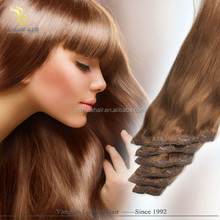 Good Feedback Golden Suppliers Wholesale Top Quality Remy natural hair extension clips