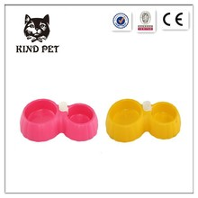 2015 on sale double pet bowl /water bottle dog bowl