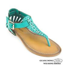 thong rhinestone ornament heel surrounded new designs cheap wholesale sandals best women flat sandals 2013