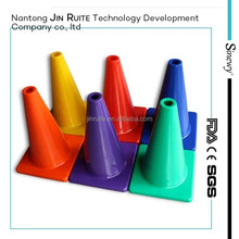Foot ball training plastic sports cones sports training cones