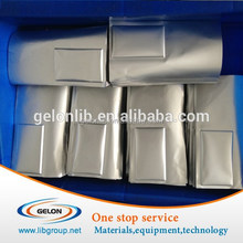 Aluminum Laminated Film for Pouch Cell Case 400mmW x 113um T, lithium battery materials